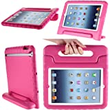 iPad Mini 3 Case, i-Blason ArmorBox Kido Series Also for Apple iPad Mini / iPad Mini with Retina Dispaly Light Weight Super Protection Convertible Stand Cover Case for Kids Friendly (Pink)