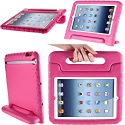 i-Blason ArmorBox Kido Series Light Weight Super Protection Convertible Stand Cover Case for Apple iPad mini (iPdMiniKido-Pink)