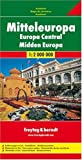 img - for Central Europe Road Map (English, French, Italian and German Edition) book / textbook / text book