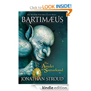 Kindle Daily Book Deal: The Amulet of Samarkand (Bartimaeus Volume 1) (Bartimaeus Trilogy), by Jonathan Stroud. Publisher: Disney Hyperion (December 13, 2011)