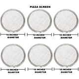 FOR COMMERCIAL USE OF HOTELS AND RESTAURANTS 10 Inches Aluminium Pizza Screen- Set Of 6 Pieces