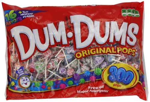 Spangler Dum Dum Pops Candy, 300-Count (030800000603)