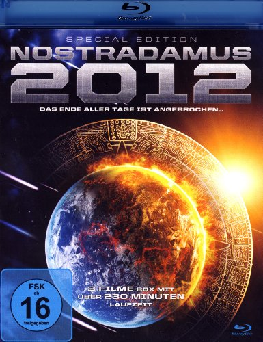 NOSTRADAMUS 2012 - SPECIAL EDITION (3 Filme-Box) (Blu-ray) Dokumentation - 2012 Doomsday - 2012 Supernova