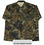 German Flecktarn BDU Jacket 2X Large - paintball apparel