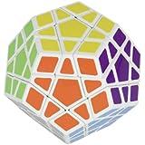 Cubikon Megaminx blanc - Cubikon Cool Chicken - cube magique - casse-tête