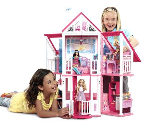 Mattel w3141 maison de poup es barbie ma maison de r ve your 1 source for toys and games - Barbie maison de reve ...