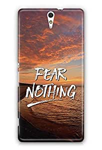 YuBingo Fear Nothing Designer Mobile Case Back Cover for Sony Xperia C5 Ultra