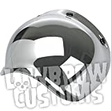 Biltwell Inc. Helmet Bubble Shield - Chrome Mirror BV-CHR-00-SD