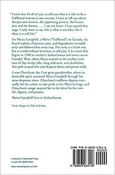 Half-breed maria campbell essay