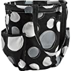 Thirty One Retro Metro Bag in Black Happy Dot - No Monogram - 3218