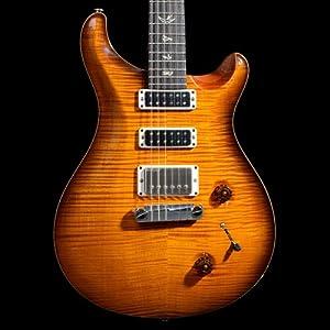 prs studio 10 top amber black with stoptail bridge electric guitar musical. Black Bedroom Furniture Sets. Home Design Ideas