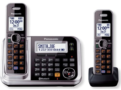 Panasonic KXTG7872S Dect_6.0 2-Handset Landline Telephone at Sears.com