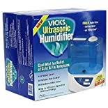 Vicks Ultrasonic Humidifier, Cool Mist for Relief of Cold and Flu Symptoms