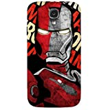 Man Of Iron Comics Back Case Cover For Samsung Galaxy S4
