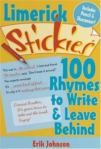 limerick-stickies-100-rhymes-to-write-leave-behind-stickies-lark-books-by-erik-johnson-2007-10-01