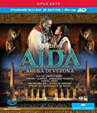 Aida 3D (Verona) [Hui Je, Marco Berti, Andrea Ulbrich, Gianfranco De Bosio] [Opus Arte: OABD7122D] [Blu-ray] [2013] [NTSC]