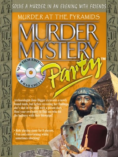 Murder Mystery Party - Murder at the Pyramids