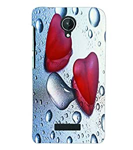 PRINTSWAG WET HEARTS Designer Back Cover Case for MICROMAX CANVAS SPARK Q380