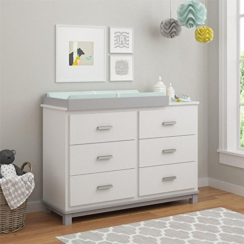 Altra Furniture Cosco Leni Dresser with Changing Table