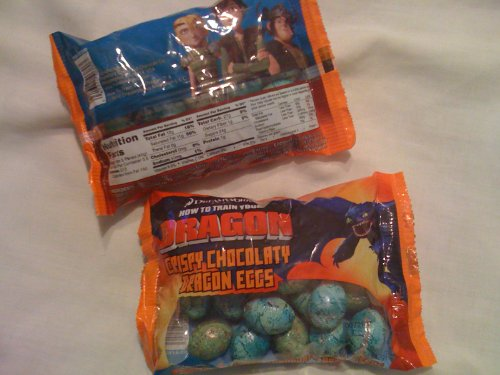 How to Train Your Dragon Milk Choclate Dragon Eggs