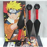 "Naruto 3 pc mini 6"" plastic Kunai"