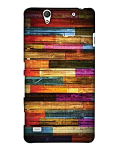 Print Haat Back Cover for Sony Xperia C4 (Multi-Color)