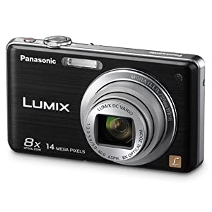 Panasonic Lumix DMC-FH20K 14.1 MP Digital Camera with 8x Optical Image Stabilized Zoom and 2.7-Inch LCD (Black)