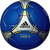 adidas(アディダス) サッカーボール タンゴ12 クラブプロ AF4814BGL ブルーXシルバーXゴールド 4号