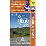 The Peak District - Dark Peak Area (OS Explorer Map Active)by Ordnance Survey
