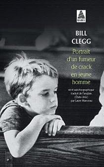 Portrait d�un fumeur de crack en jeune homme par Clegg