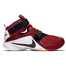 Nike Lebron Soldier IX Cavs 9 Men Basketball Shoes New Red White