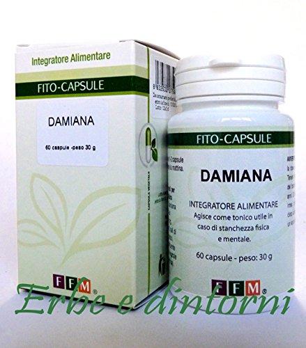 DAMIANA ESTRATTO SECCO TITOLATO 60 capsule - Afrodisiaco, antidepressivo