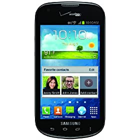 Samsung Galaxy Stellar, Black 8GB (Verizon Wireless)