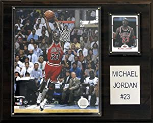 Limited Edition Michael Jordan The Determined Competitor Plaque by C&I Collectables