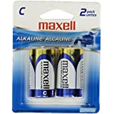 MAXELL 723320 - LR142BP Alkaline Batteries (C; 2 Pk; Carded)