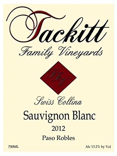2012 Tackitt Family Vineyards Swiss Collina Paso Robles Sauvignon Blanc 750 Ml