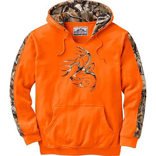 Legendary Whitetails Men's Outfitter Hoodie Inferno Large
