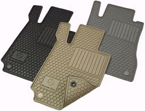 Mercedes benz genuine oem 2006 2011 cls class all weather for Genuine mercedes benz floor mats