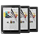 "Skque 3 Pcs of Anti-scratch Screen Protector Guard Film Covers for Barnes&Noble Nook HD+ 9"" Display Tablet"