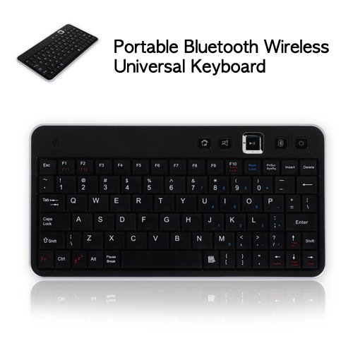 CaseCrown Portable Bluetooth Wireless Universal Keyboard (Silver) for the Playstation 3 Console