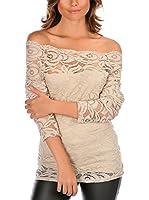 La Bella Donna Camiseta Manga Larga Patricia (Beige)