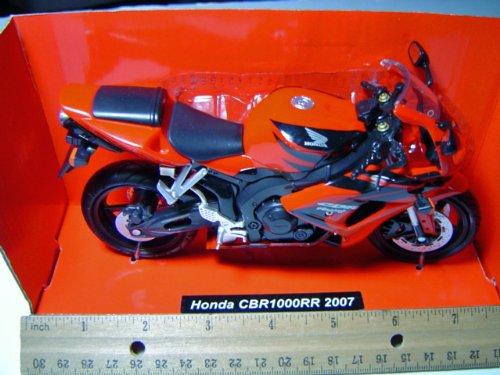 Honda Motorcycle CBR1000RR 2007 Red 1:12