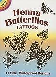 Henna Butterflies Tattoos (Dover Tattoos)