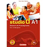 studio d - Grundstufe: A1: Gesamtband - Kurs- und bungsbuch mit Lerner-Audio-CD: Hrtexte der bungen und des Modelltests Start Deutsch 1: Einheit 1 - 12 - Europischer Referenzrahmen A1von &#34;Prof. Dr. Hermann Funk&#34;
