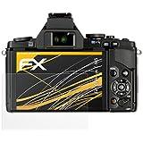 3 x atFoliX Schutzfolie Olympus E-M5 Folie Displayschutzfolie - FX-Antireflex blendfrei