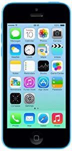 Apple iPhone 5c 16GB Blue SIM-Free Smartphone