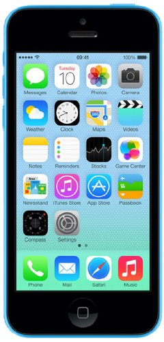 Apple 16Gb Iphone 5C Me501B/A Factory Unlocked Lte 4G Bands 1/2/3/5/7/8/20 Model A1507 Gsm 2G & 3G 850/900/1900/2100 & 4G Lte 800/850/900/1800/1900/2100/2600 Blue