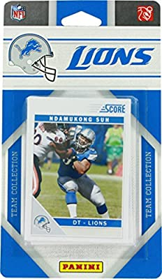 2011 Panini Detroit Lions Team Collection Trading Cards