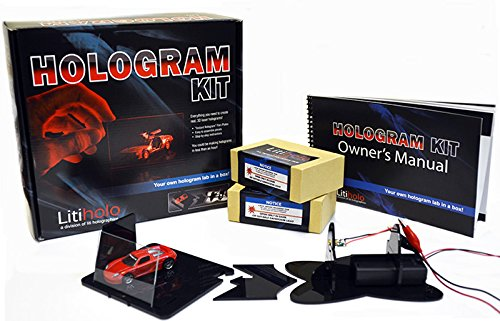 "Litiholo Hologram Kit - Make 3D Laser Holograms With ""Instant Hologram"" Film front-882851"