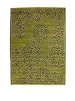 Homemania Alfombra Vetus Verde 110 x 170 cm